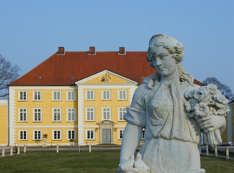 versteinerte Schlossherrin?