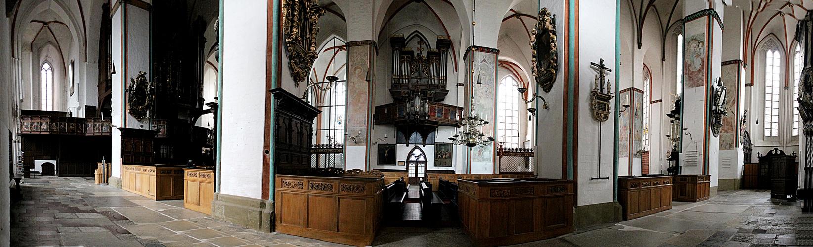 Versuch eines Panoramas St. Jakobi Lübeck