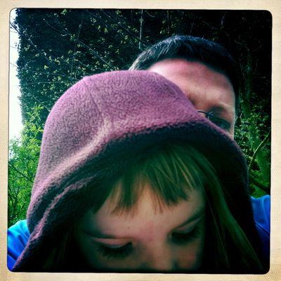 Versuch Selbstportrait mit Tochter