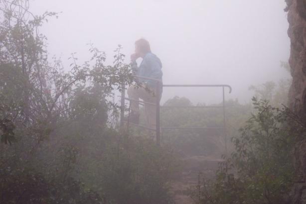 Versunken im Nebelmeer