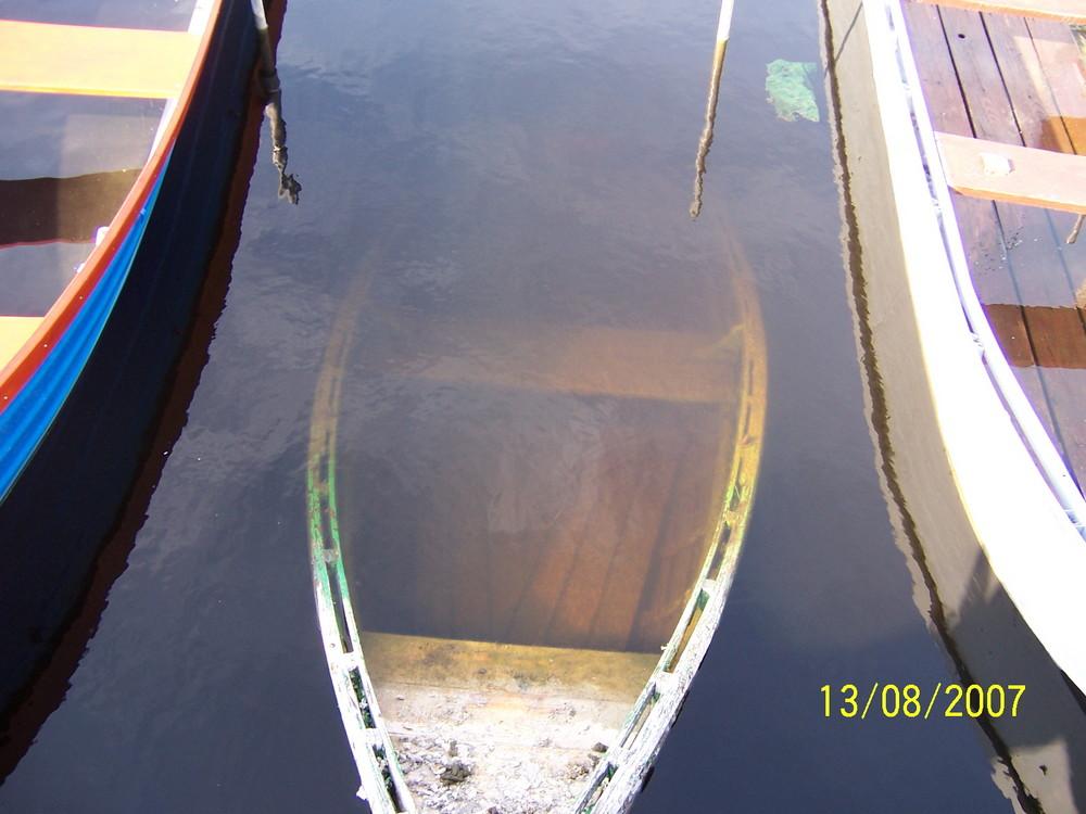 Versunkenes Boot