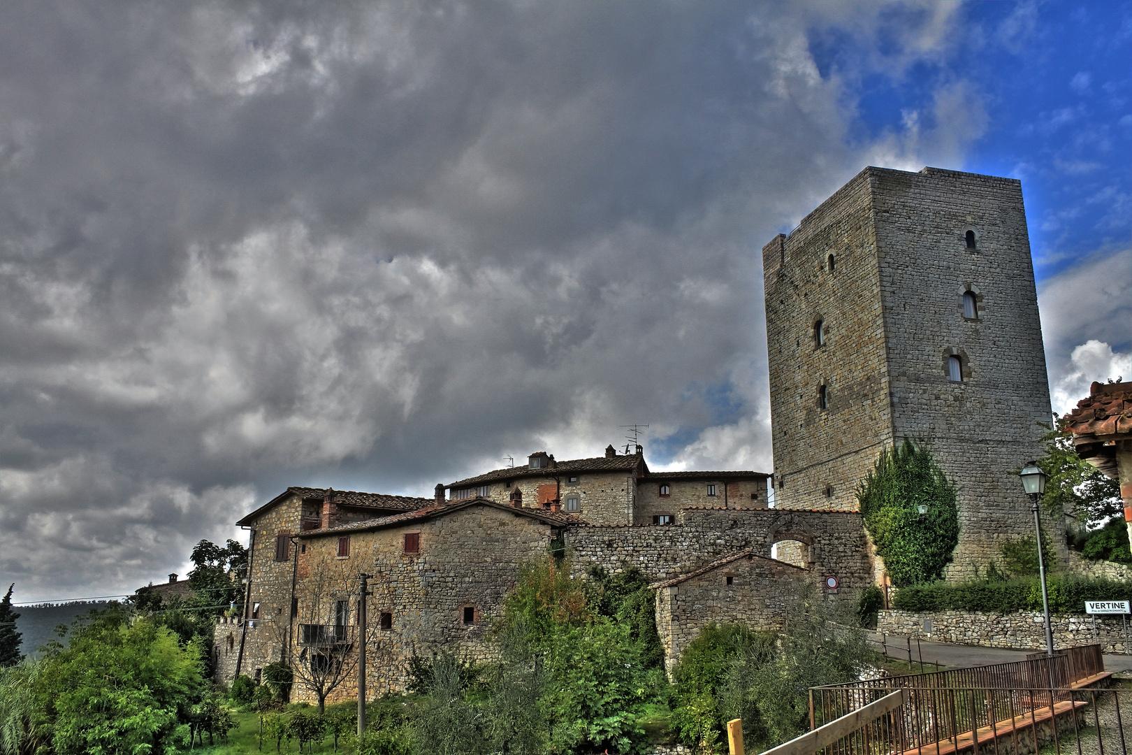 Vertine in der Toskana