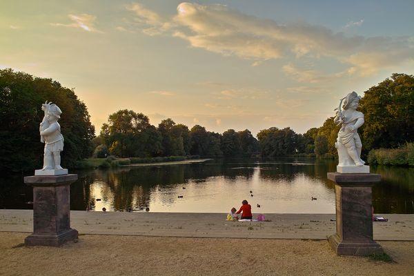 Verträumt im Schlosspark
