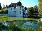 Verträumtes Wasserschloss (Bottmingen bei Basel Schweiz)