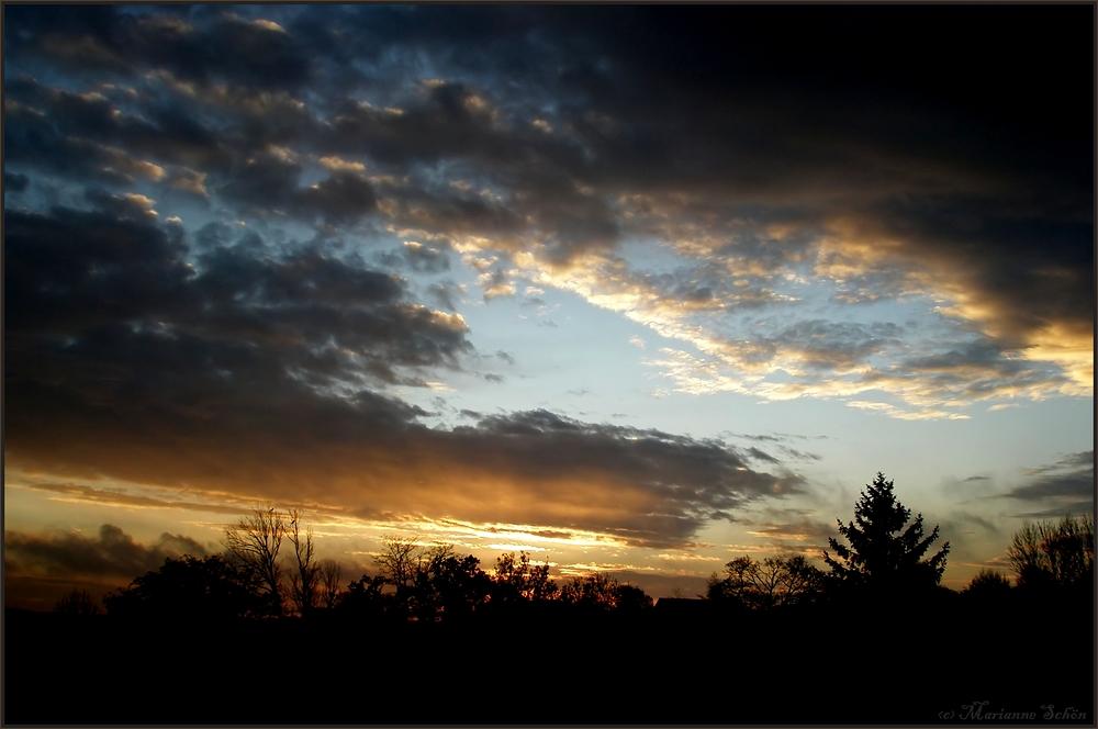 Vertreibung der dunklen Wolken...