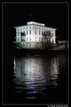 Verwaltungsgebäude der Wehr- und Schleusenanlage Wien / Nußdorf