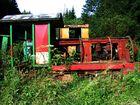 Verwilderte Eisenbahn