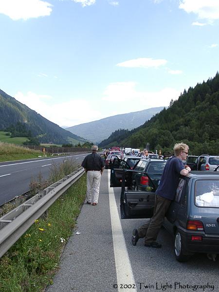 Verwirrung auf der Autobahn ...