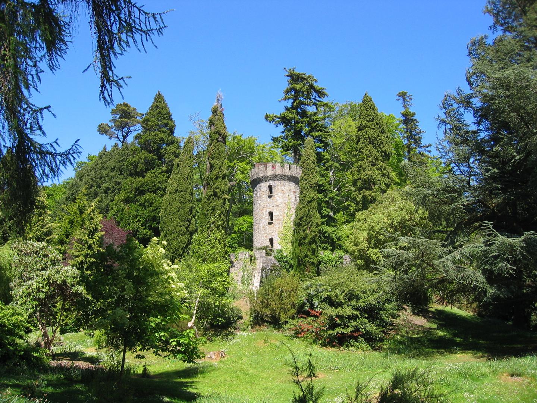 Verwunschener Turm in Irland