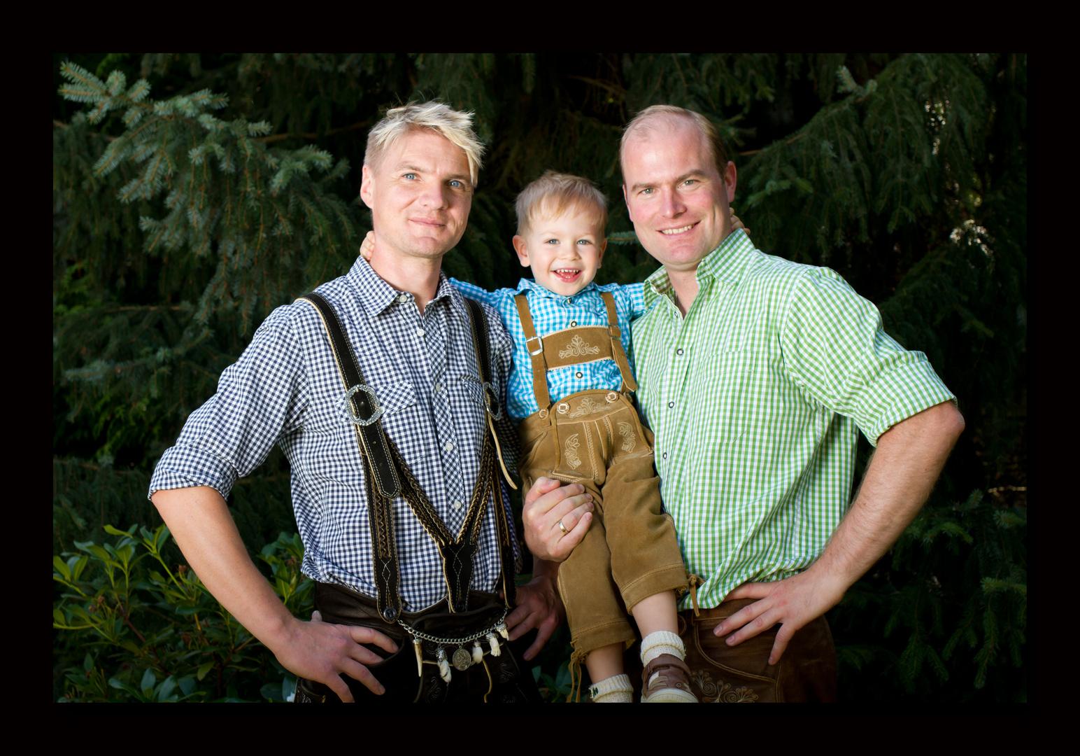 very strong bavarian men