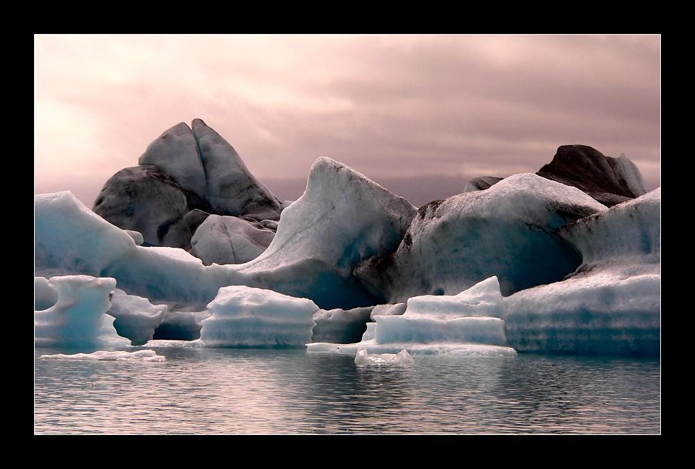 Verzaubernde Eislandschaft