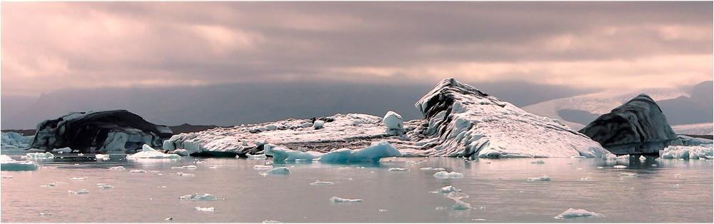 Verzaubernde Eislandschaft II