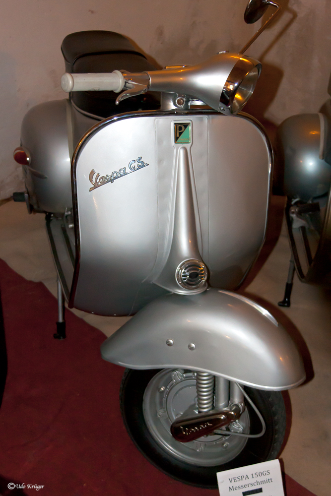 Vespa 150 GS Messerschmitt
