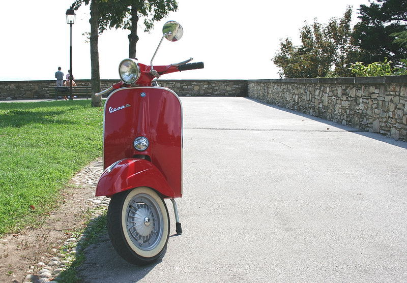 Vespa - a myth never to explode