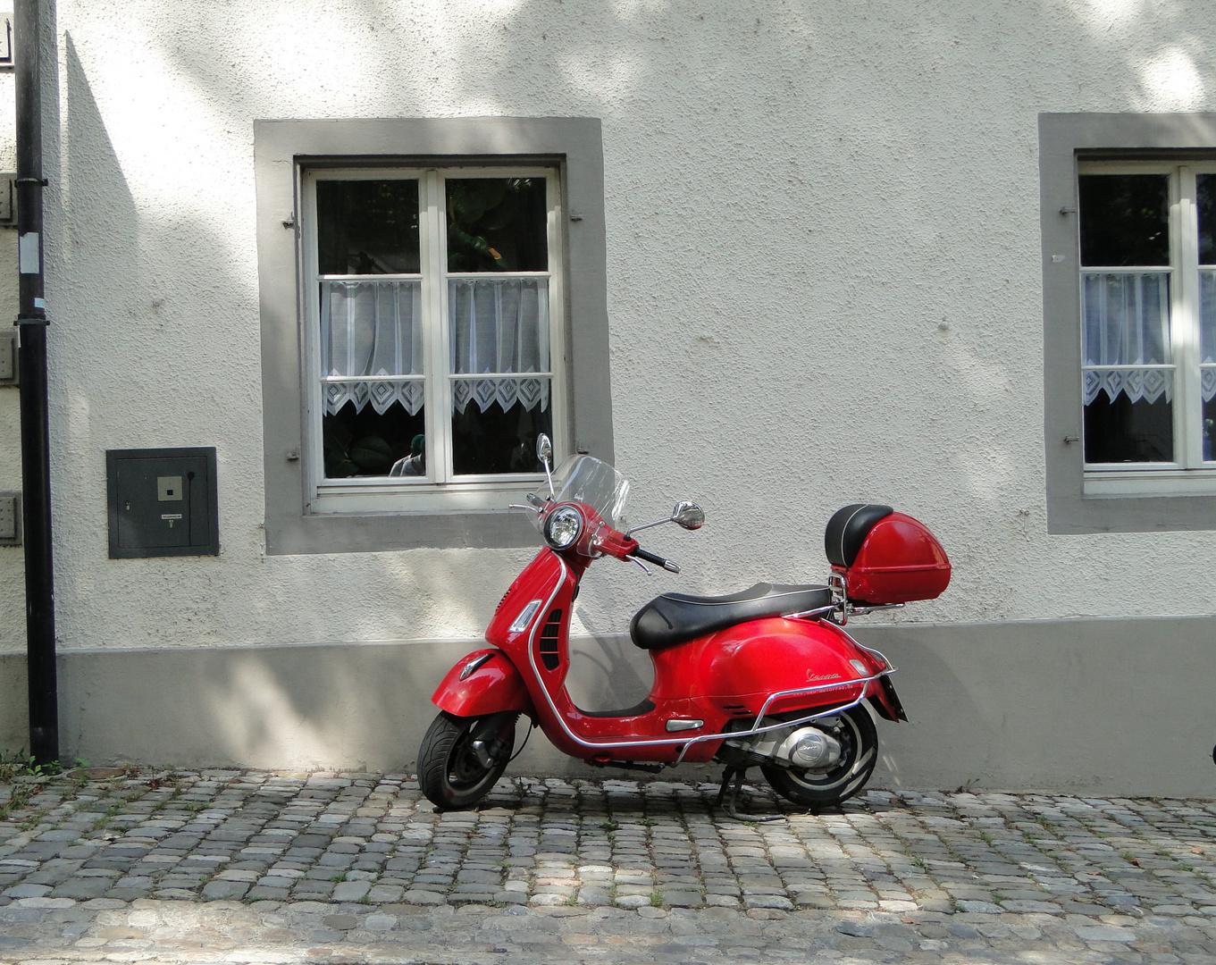 Vespa in Konstanz...