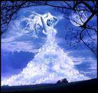 Vestida de cielo (Bekleidet aus Himmel)