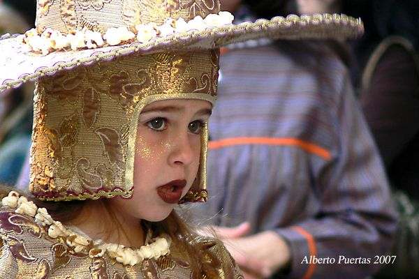 Vestida de Palomitas de Maiz