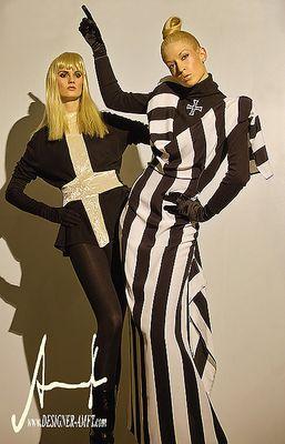 Vestidos de diseñador de moda alemán - dresses from german fashion designer