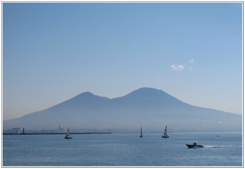 Vesuv am Morgen - Neapel