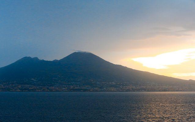 Vesuv in Sicht