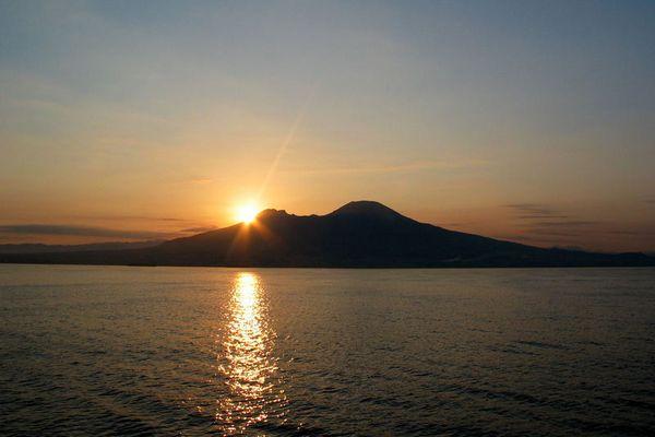 Vesuv Sonnenaufgang