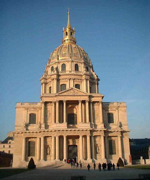 Veteranen Dom in Paris