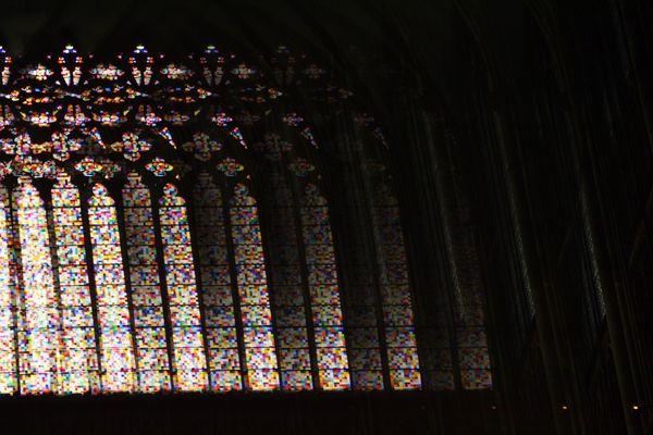 vetrata di una chiesa