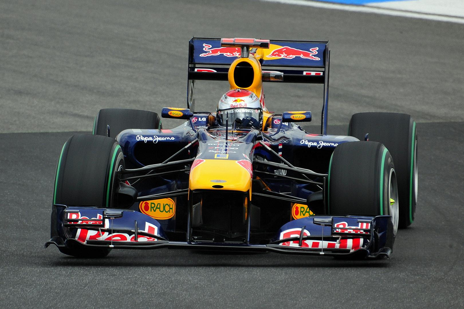 Vettel Hockenheimring 2010