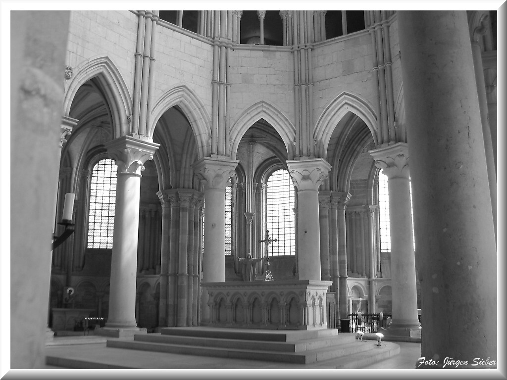 Vézelay in Burgund