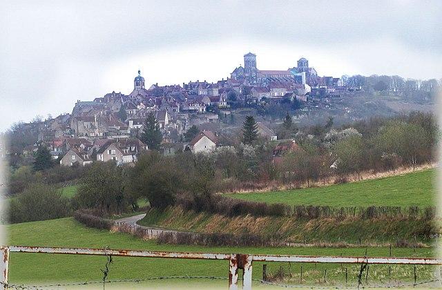 Vezelay. Jakobsweg.