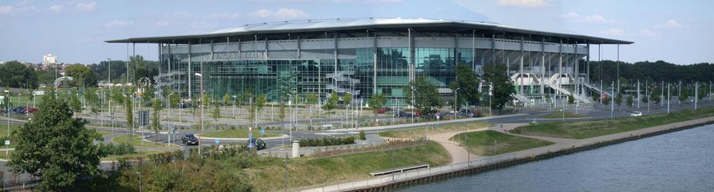 VFL-Stadion in Wolfsburg