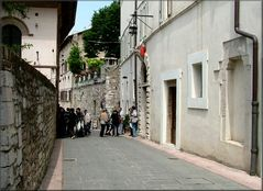 Via a Assisi