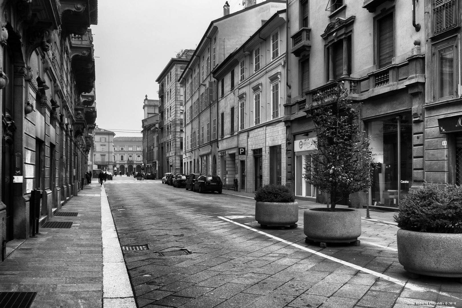 Via Cavour, Piacenza