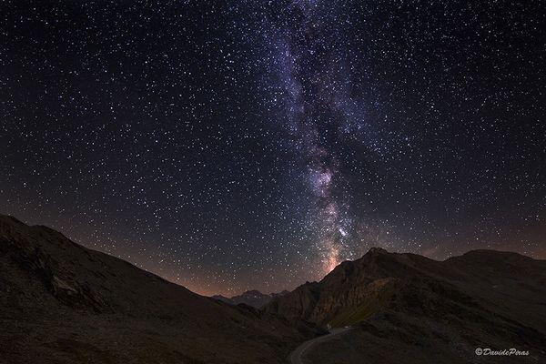 Via Lattea dal Colle Dell'Agnello