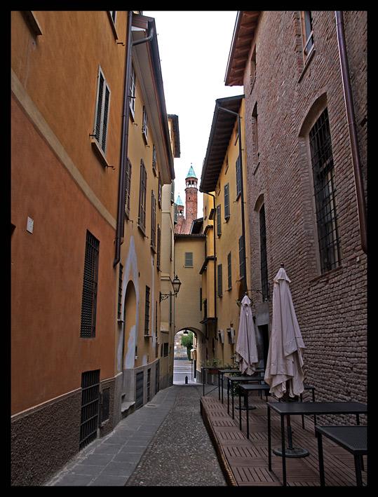 Via Porta Marzia dal ristorante