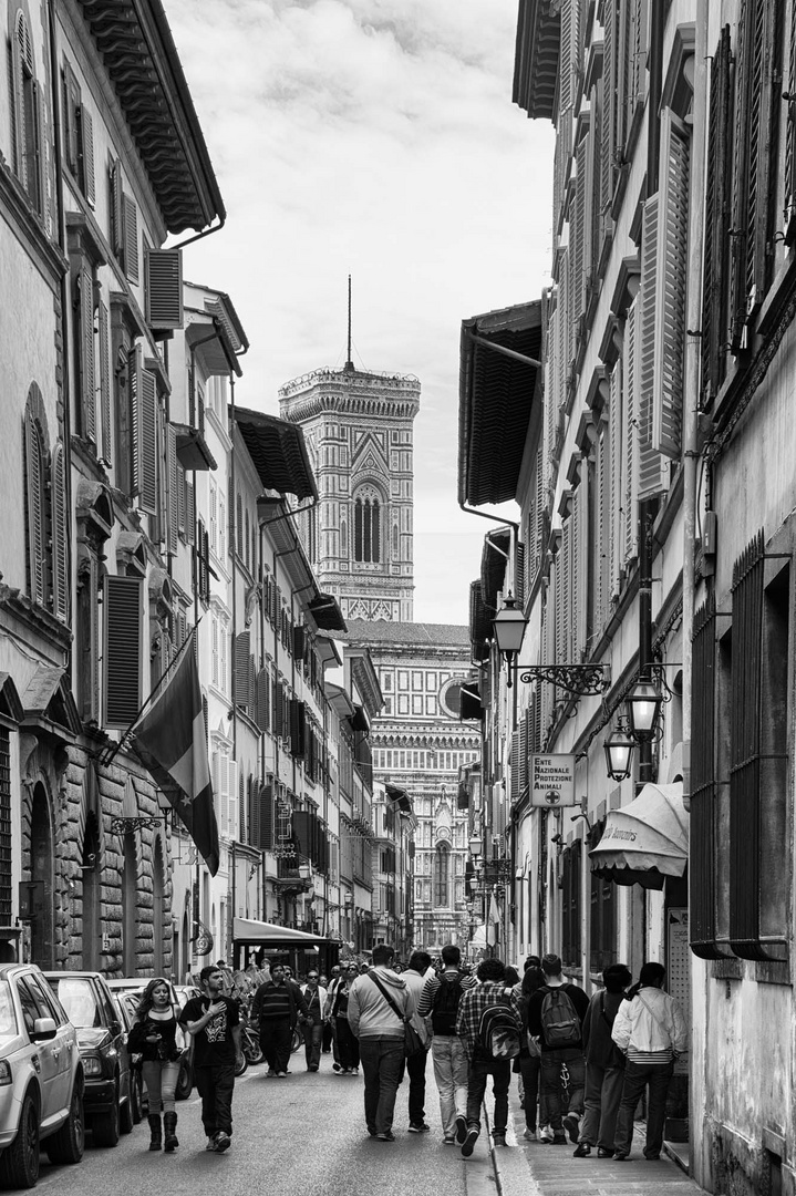 Via Ricasoli in Florenz