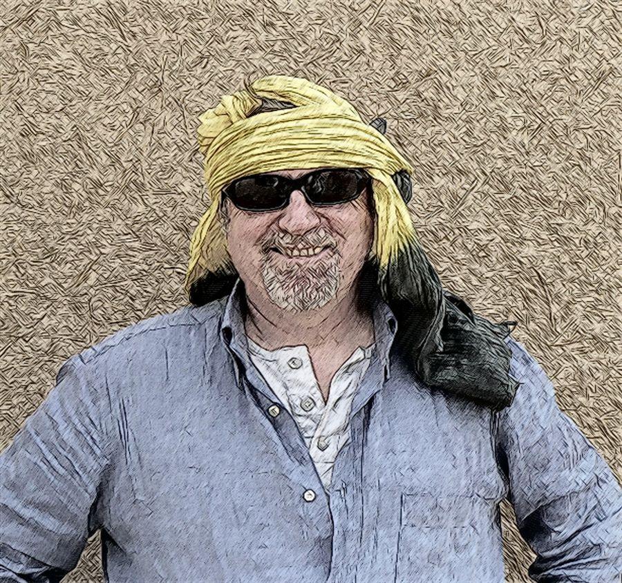 Viaggio Marocco - Ritratti del gruppo - 14 Io stesso