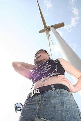 Vicky und Windenergie