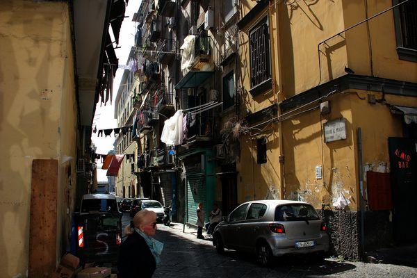 Vico Cangiani al Mercato / Napoli