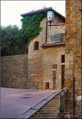 * Vicolo a San Gimignano *