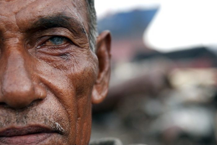 Victim of Shipbreaking Industry