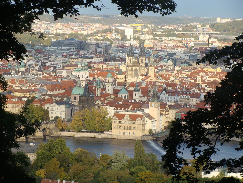 Victor JOANIN   Vue de Staré Mesto, Prague, République Tchèque