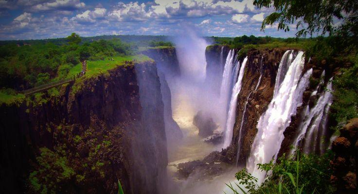 Victoria Falls, Zambian Side, Africa 2010