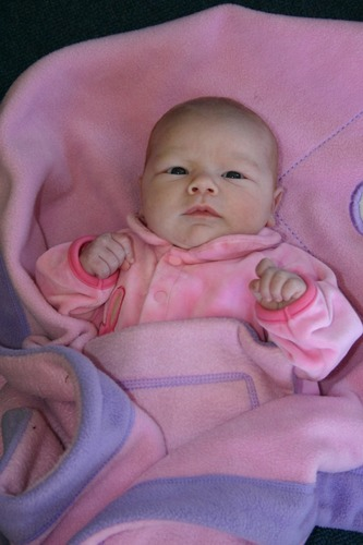 victoria, tyra's wee sister 3wks old