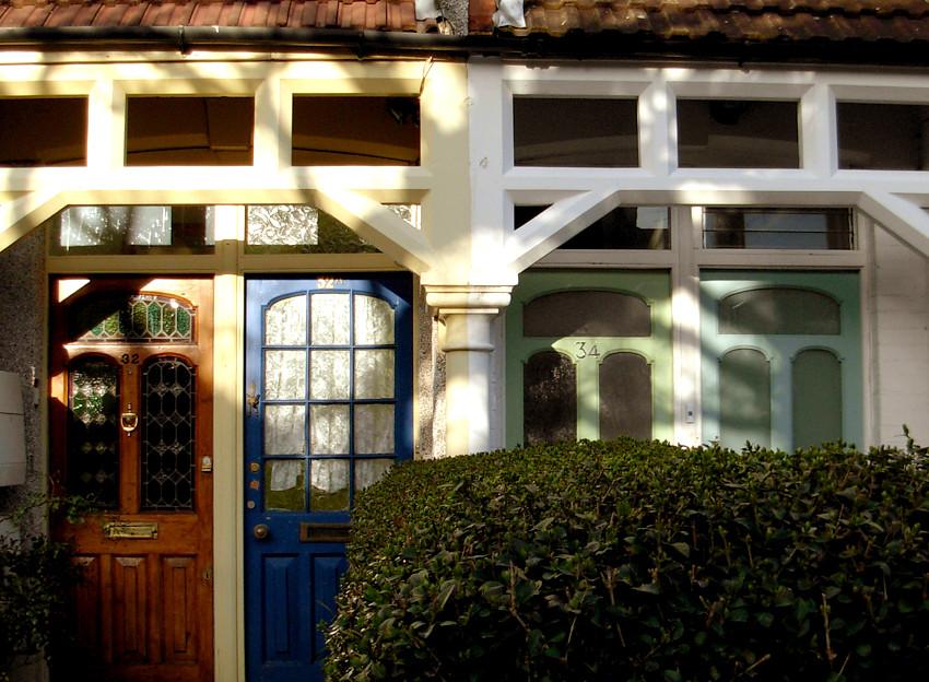 Victorian doors