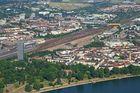 Victoriaturm mit Rheinufer Lindenhof