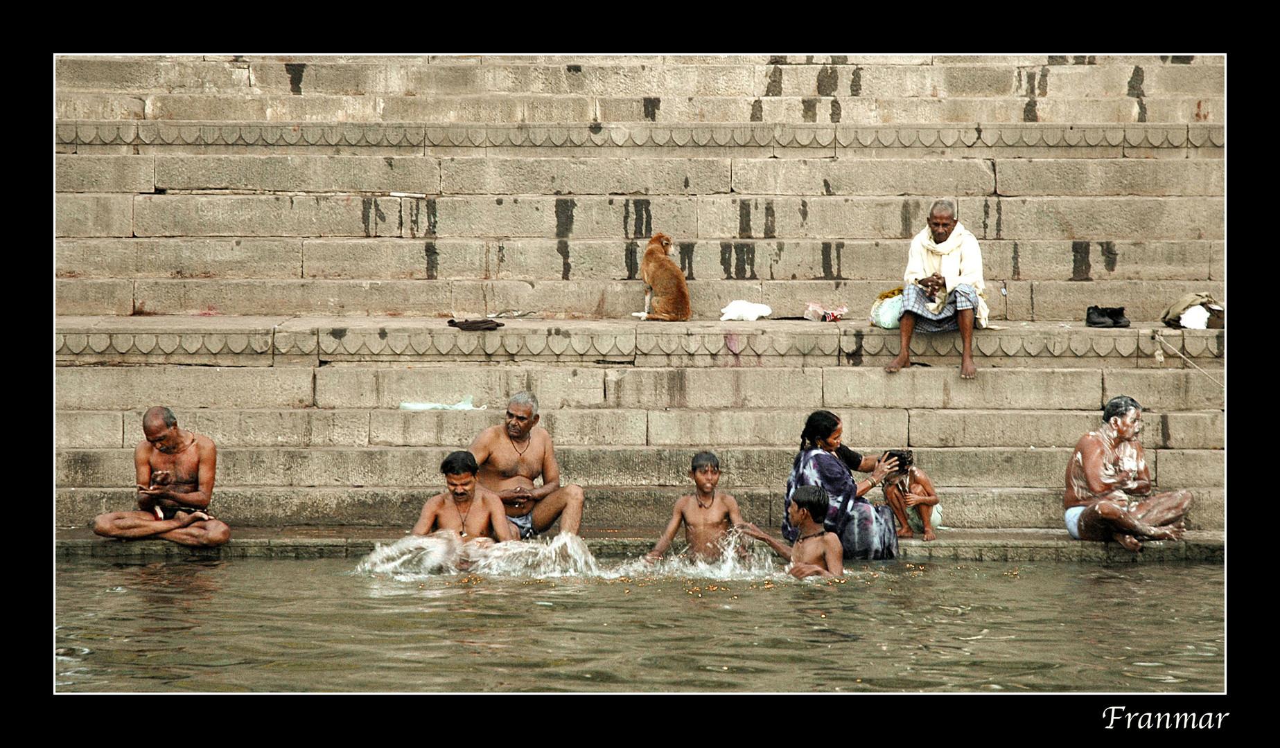 """Vida en el """"ghat"""""""