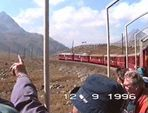 Videosequenz Fahrt über den Berninapaß