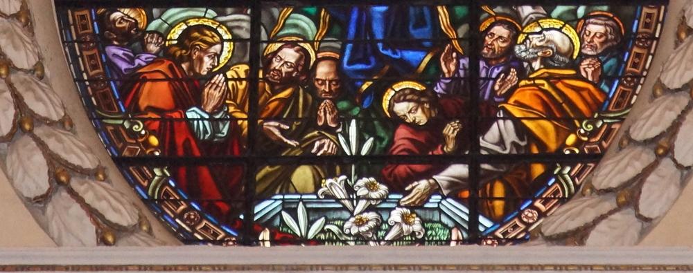 Vidriera de la Catedral de Valencia 2,