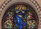 Vidriera de la Catedral de Valencia